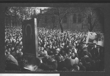 Czwartek Wielkanocny. Kolejne Symbole Tysiąclecia – Obraz Nawiedzenia i obraz Ojca św. Pawła VI.